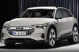Audi ra mắt SUV thuần điện E-Tron cạnh tranh trực tiếp Mercedes Benz