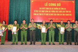 Thanh Hóa có 8 Phó Giám đốc Công an tỉnh