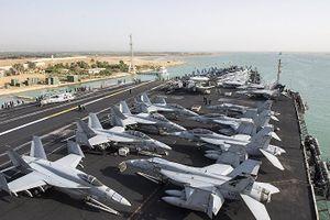Nhóm tàu tác chiến sân bay Mỹ tiến vào Biển Địa Trung Hải làm gì?