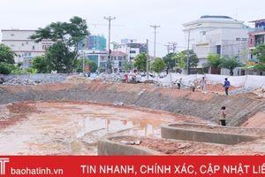 Tiểu công viên - Thêm nhiều không gian xanh giữa TP Hà Tĩnh