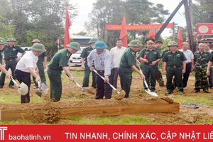 BĐBP Hà Tĩnh hỗ trợ xã Hương Trạch xây dựng nhà văn hóa