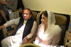 Pakistan thả cựu Thủ tướng bị phế truất Nawaz Sharrif và con gái