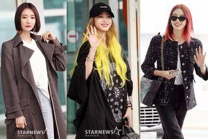 Lấn áp Go Jun Hee và Irene, Han Ye Seul nổi bật với màu tóc vàng khởi hành đến 'Milan Fashion Week 2018'