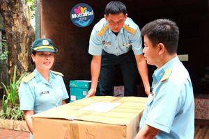 Nhà máy Z119 ủng hộ Mottainai 10 thùng đồ chơi, quần áo, sách vở
