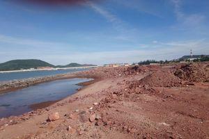 Thanh Hóa: Vì sao Công ty Công Thanh vẫn ' cố tình' san lấp trái phép diện tích cảng mở rộng đã bị thu hồi?