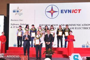 EVNICT đạt danh hiệu 50 Doanh nghiệp CNTT hàng đầu Việt Nam 2018