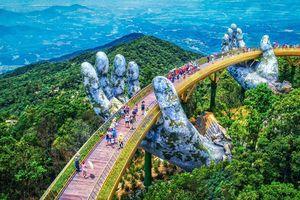 Cầu Vàng là biểu tượng mới của TP.Đà Nẵng