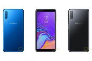 Samsung Galaxy A7 2018 lộ diện với 3 camera