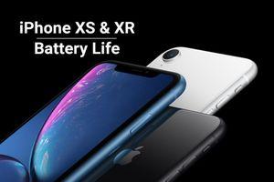 Trung Quốc công bố dung lượng pin thực tế 3 iPhone XS, XS Max và XR