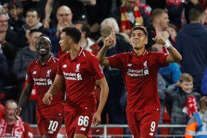 Firmino ghi bàn phút bù giờ giúp Liverpool vượt qua PSG