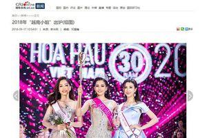 Báo chí nước ngoài hết lời khen vẻ đẹp của Hoa hậu Việt Nam Trần Tiểu Vy