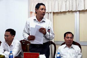 Bộ trưởng Bộ Nội vụ Lê Vĩnh Tân khảo sát và làm việc tại thành phố Cần Thơ