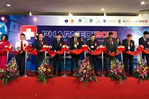 600 gian hàng của 25 quốc gia tham gia Triển lãm Y tế Quốc tế Việt Nam lần thứ 13