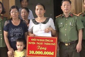 Công an tỉnh Thừa Thiên- Huế hỗ trợ xây nhiều nhà nghĩa tình đồng đội