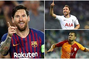 Danh sách các cầu thủ 'nổ súng' tại Champions League: Messi dẫn đầu