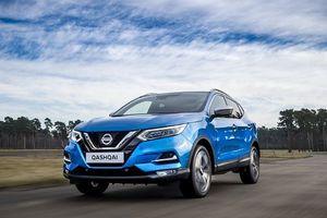 SUV Nissan Qashqai tại Anh được nâng cấp động cơ thêm mạnh mẽ