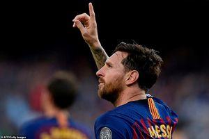 Dư âm Barca- PSV: Ngả mũ trước Messi