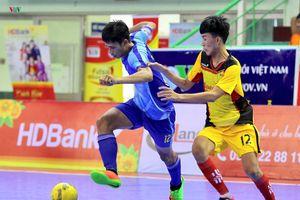 Giải futsal HDBank VĐQG 2018: Sanatech Sanest Khánh Hòa thắng nhọc