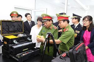 Nâng cao năng lực Khoa học hình sự cho Bộ Công an Việt Nam