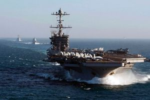 Mỹ điều tàu sân bay hạt nhân đến gần Syria