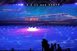 150.000 người Triều Tiên đồng diễn chào đón TT Hàn Quốc
