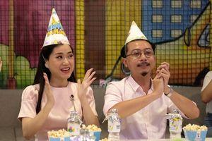 Gia đình Lâm Vỹ Dạ - Hứa Minh Đạt 'đại náo' tiệc sinh nhật tiNiWorld