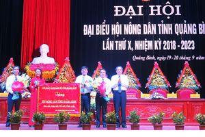 Quảng Bình: Đại hội đại biểu Hội Nông dân tỉnh lần thứ X