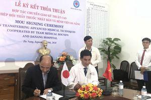 Nhật Bản hỗ trợ Đà Nẵng kỹ thuật cấy ghép nội tạng