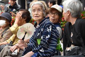 Số người cao tuổi tại Nhật Bản cao kỷ lục