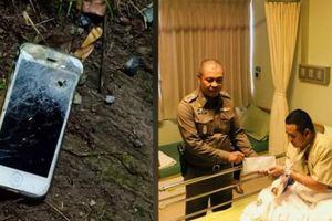 Đấu súng với gangster, cảnh sát Thái Lan thoát chết nhờ iPhone