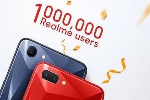 Điện thoại Realme của Oppo cán mốc 1 triệu người dùng tại Ấn Độ
