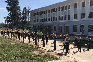 Buổi chiều ở Trung tâm huấn luyện Vùng 4 Hải quân