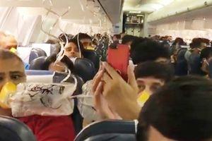Máy bay Ấn Độ phải quay lại vì phi hành đoàn quên bật công tắc duy trì áp suất cabin