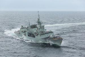 Tàu chiến Canada sẽ diễn tập trên biển với Việt Nam