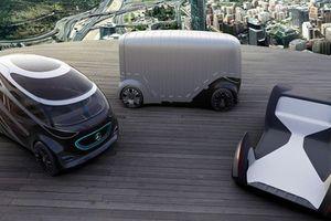 Choáng với concept xe điện siêu độc lạ của Mercedes-Benz