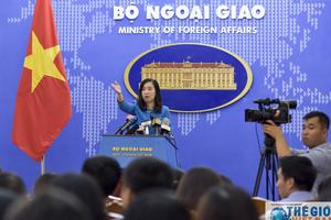 Việt Nam đề nghị các nước đóng góp tích cực vào duy trì hòa bình trên Biển Đông