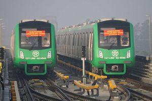 Vận hành 5 đoàn tàu trên tuyến đường sắt Cát Linh - Hà Đông