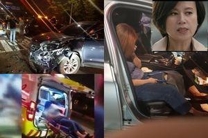 Diễn viên phim 'Cô dâu vàng' gặp tai nạn giao thông