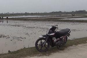 Nông dân mất xe khi đi làm cỏ lúa