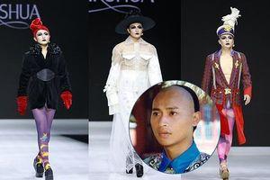Nam diễn viên 'Hoàn Châu Cách Cách' giả gái diễn thời trang gây sốc