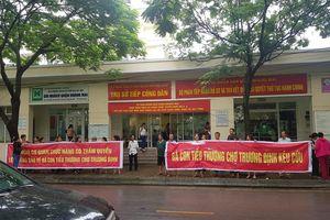 Bà con tiểu thương Trương Định Plaza 'tố' CĐT làm trái các cam kết