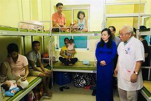 Bệnh viện Nhi Trung ương hỗ trợ cho bệnh nhi bị ảnh hưởng bởi vụ cháy