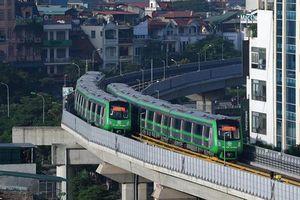 Khai thác tuyến đường sắt Cát Linh - Hà Đông trước tết Nguyên đán