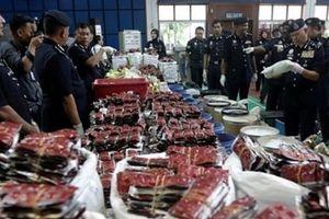 Malaysia bắt vụ ma túy 'khủng'
