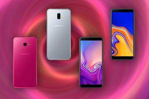 Samsung công bố Galaxy J6 Plus và J4 Plus: Màn hình vô cực, pin 'khủng'