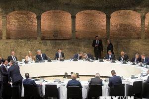 Chủ tịch EC 'đánh phủ đầu' tại cuộc gặp các nhà lãnh đạo EU-Anh