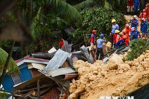 Philippines: Sạt lở đất chôn vùi 24 căn nhà và nhiều người