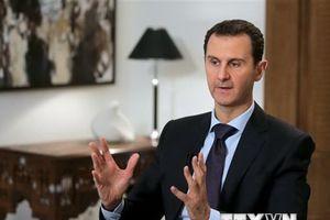 Điện Kremlin nhận được điện tín từ Tổng thống Syria Bashar al-Assad