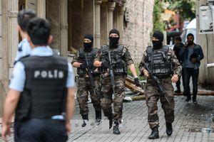 Lực lượng an ninh Thổ Nhĩ Kỳ bắt giữ 7 đối tượng khủng bố