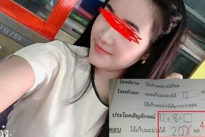 Cô giáo trẻ ở Thái Lan gây tranh cãi khi chấm sai phép tính cơ bản